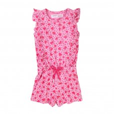 6TPLAYS 4K: Girls Hearts Spots Playsuit (1-3 Years)