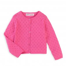 Balloon 4K: Pointelle Cardigan (1-3 Years)
