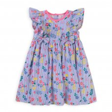 Bee 2B: All Over Printed Poplin Dress (3-12 Months)