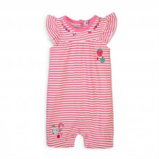 Berry 3: Short Sleeve Short Leg Romper (0-12 Months)