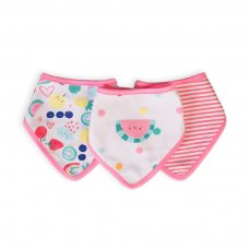 Berry 5: 3 Pack Bibs (One Size)