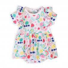 Berry 7: Bodysuit Romper Dress (0-12 Months)