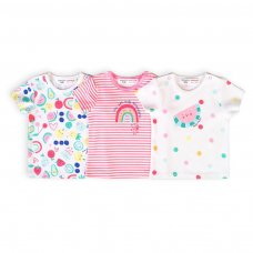 Berry 8: 3 Pack Tops (0-12 Months)