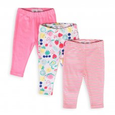Berry 9: 3 Pack Leggings (0-12 Months)