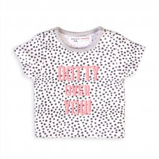 Capsule 43: Girls Giraffe T-Shirt (Organic Cotton) (0-12 Months)