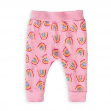 Capsule 49: Girls Rainbows Legging (Organic Cotton) (0-12 Months)