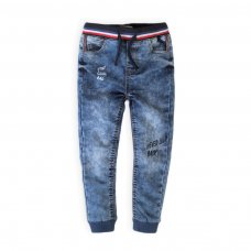 Chill 6K: Ribbed Waist Denim Jean (9 Months-3 Years)