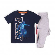 KB PYJ 17T: Boys 2Pc Play S/S Pyjama Set (8-13 Years)