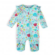 Ladybug 1: All Over Printed Sleepsuit (0-12 Months)