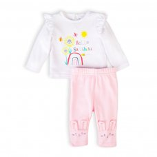 Ladybug 2: 2 Piece Top & Legging Set (0-12 Months)
