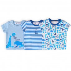 Rhino 9: 3 Pack Tops (0-12 Months)