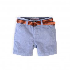 Tiger 4K: Woven Oxford Short With Belt (1-3 Years)
