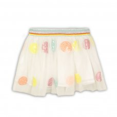 Sand 6: Mesh Skirt With Glitter Waistband (9 Months-3 Years)