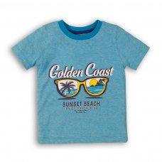 Sunset 7P: Yarn Dyed Stripe T Shirt (3-8 Years)