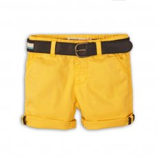 Sunset 8: Yellow Chino Short With Belt (9 Months-3 Years)