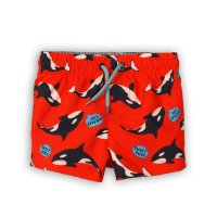 TB BOARD 18: Aop Whale Board Shorts (9 Months-3 Years)