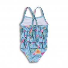 TG SWIM 10: Aop Flowers Swimsuit (9 Months-3 Years)