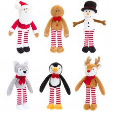 SX1744: 12cm Christmas Dangly Characters (6 Designs)