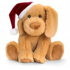 SX6382: 25cm Keeleco Puppy With Hat (100% Recycled)
