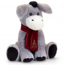 SX6386: 25cm Keeleco Donkey With Scarf (100% Recycled)
