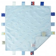 BC16-B: Blue Star Comforters with Taggies
