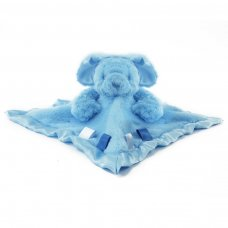 BC26-B: Blue Bunny Comforter w/Ribbons