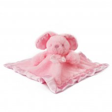 BC26-P: Pink Bunny Comforter w/Bow