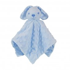 BC32-B: Blue Dimple Bunny Comforter