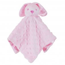 BC32-P: Pink Dimple Bunny Comforter