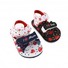 E188: I Love Mum/Dad EVA Sandals (9-18 Months)