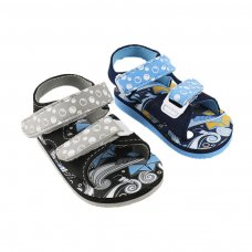 E194: Nautical Print EVA Sandals (15-24 Months)