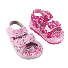 E200: Mermaid/Princess Print EVA Sandals (9-18 Months)