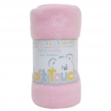 FBP05-BP-P: Pink Embossed Baby Wrap (Bulk Pack)