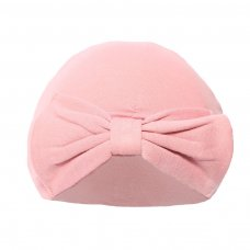 H17-RO: Rose Gold Turban Hats w/Bow