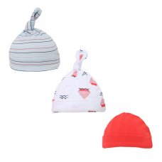 H57: Boys 3 Pack Nautical Hats (0-9 Months)