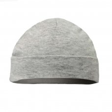 H9-G-BP: Plain Grey Hats (Newborn-3 Months)