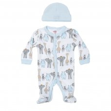 PR17: Premature Boys 2 Piece Garment Set