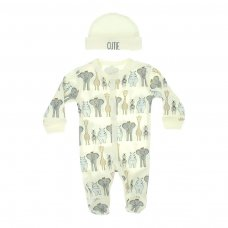 PR18: Premature Boys 2 Piece Garment Set