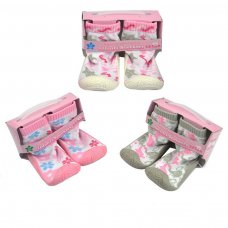 SN170-G: Girls Sneakers (9-21 Months)