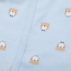T19897: Baby Boys Bear 10 Piece Mesh Bag Gift Set (NB-6 Months)