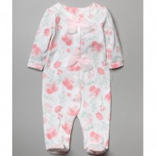 T20012: Baby Girls Floral All In One (0-12 Months)