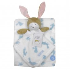 T20024: Baby Boys Guess How Much I Love You Comforter & Blanket