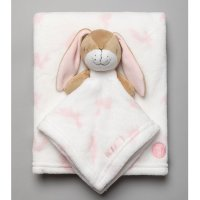T20025: Baby Girls Guess How Much I Love You Comforter & Blanket
