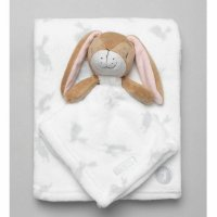 T20026: Baby Unisex Guess How Much I Love You Comforter & Blanket