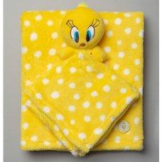 T20036: Baby Looney Tunes Tweety Comforter & Blanket
