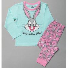T20408: Girls Bugs Bunny Pyjama (4-10 Years)