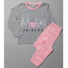 T20409: Girls Friends Pyjama (4-10 Years)