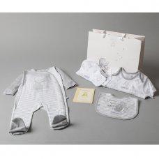 T20690: Baby Unisex Humphrey's Corner 7 Piece Mesh Bag Gift Set With Book (NB-6 Months)
