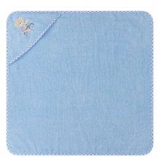 T20718: Baby Sky Bear Hooded Towel/Robe
