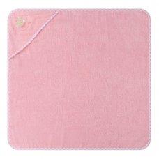 T20719: Baby Pink Ballerina Bear Hooded Towel/Robe